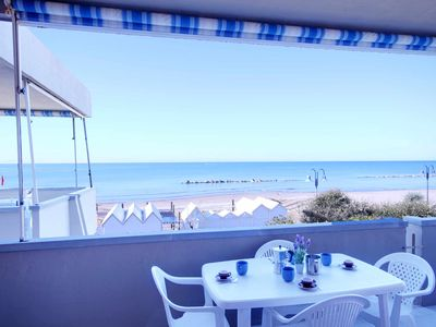 Photo for terrace overlooking the sea at Castiglione della Pescaia