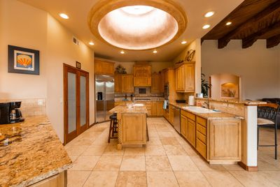 Very Spacious Gourmet Kitchen with large island