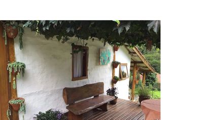 Photo for I rent a cozy place with a lot of green
