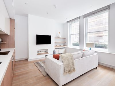 Photo for Sonder | Covent Garden Piazza | Cozy 1BR + Laundry