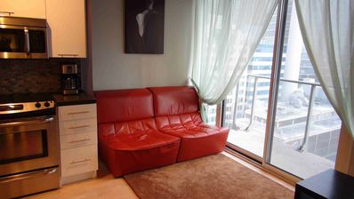 Photo for Luxury Fully Furnished and Equipped Condo 'Boutique' 126 Simcoe (12 floor)