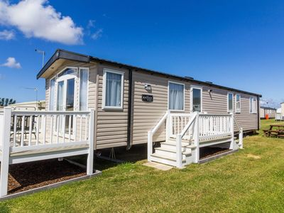 Photo for 8 berth caravan for hire at Caister on sea in Norfolk.Great Haven park ref 30167