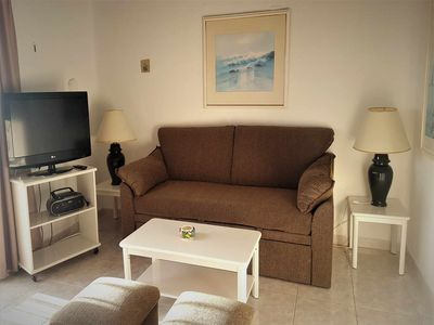 Photo for K 1 bedroom apartment on 2nd floor with sea views