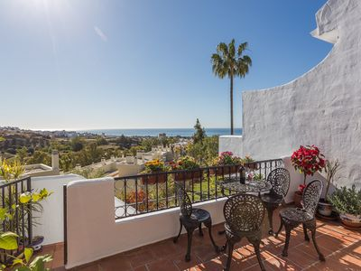 Photo for ☆SUPERB TOWNHOUSE 3BR☆ SEA VIEWS/WIFI/AC/PS4/POOL