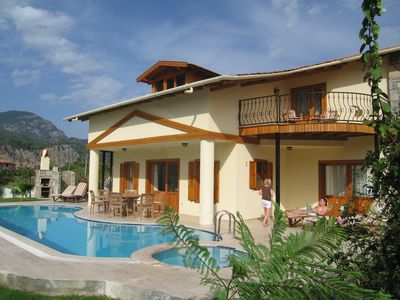 Photo for Spacious Luxury Villa with Own Pool and Stunning Mountain Views