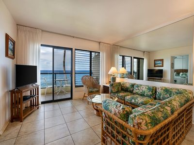 Photo for Roomy w/Great View! Island Decor, Lanai, Kitchen, WiFi, Laundry–Poipu Shores 202A