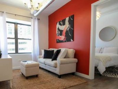 Photo for Sycamore Sunset - Modern + Safe 1BDR in Downtown!