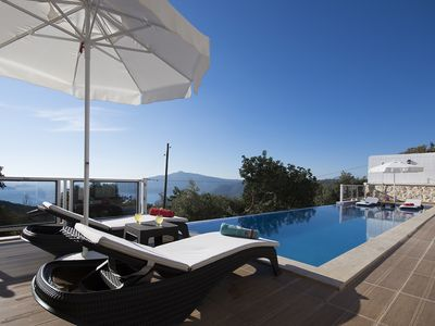 Photo for Newly Completed 2 Bedroom Villa with Large Secluded Infınıty Pool and Sea Views
