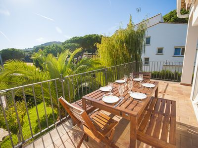 Photo for 3 bedroom Villa, sleeps 6 in Calella de Palafrugell with Air Con and WiFi