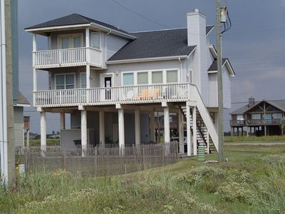 View of House from beach path