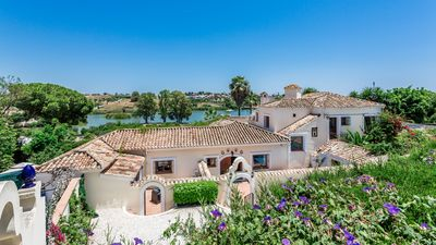 Photo for Stunning luxury Spanish villa with lake views,private pool,bar, mini golf & more