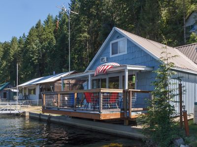 Photo for Updated Waterfront Cabin With Large Private Dock, Stunning Views