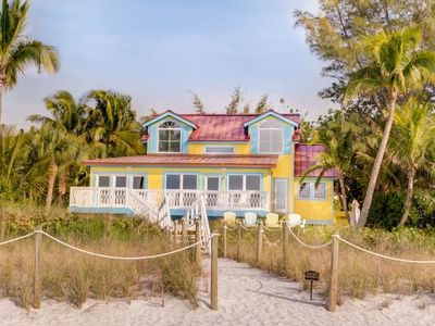 Photo for Newly Remodeled Three Bedroom Home with Direct Beach Front Views! Sodamnlucky