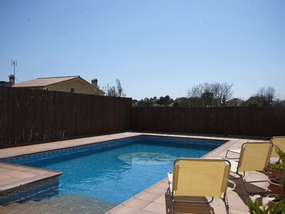 Photo for Club Villamar - Nice and comfortable villa with 2 kitchens, 2 living rooms, big swimming pool, ai...