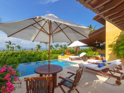 Photo for Villa Austral - Ideal for Couples and Families, Private Pool & Jacuzzi, 4 Passengers Golf Cart