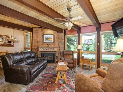 Photo for Beautiful Updated Mountain Home - Mountain Fun is Right Outside/Pool/HTs Onsite