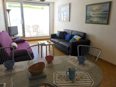 Photo for Apartment La Rose des Sables in La Grande Motte - 5 persons, 1 bedrooms