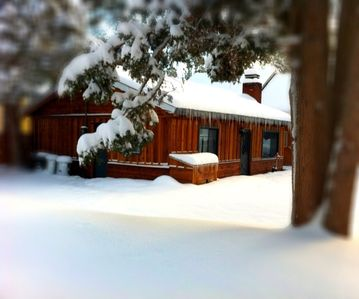 Photo for The White Moose Lodge (modern Cabin) 2 Bedroom/1 Bath from $75/night