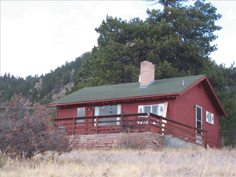 Trail ridge cabin comfortable and cozy wi vrbo for Vrbo wisconsin cabins