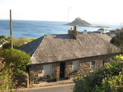 Photo for Coachmans Cottage - Charming historic cottage with breathtaking coastal views