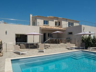 Photo for Villa CASALINA - Exceptional sea views and heated pool