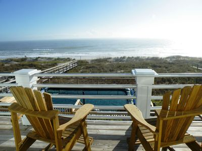 Photo for Spectacular Oceanfront Beach House With New Pool! Reserve Your Seats Today