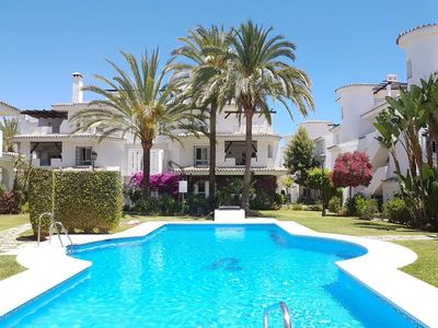 Photo for Spacious, bright and relaxing 2 bedroom apartment under the sun of Marbella