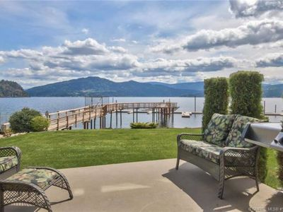Photo for Lakefront Home with Stunning views