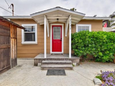 Photo for OB Cottage: walk to beach, restaurants, and shops! Includes 2 Parking Spaces!