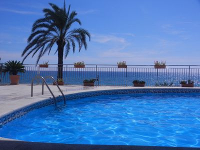 Photo for Very sunny apartment, in front of Calafell beach, a fine sand beach.