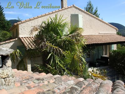 Photo for Superb private and dominant villa with swimming pool - Classified 3 *** Hérault Tourisme