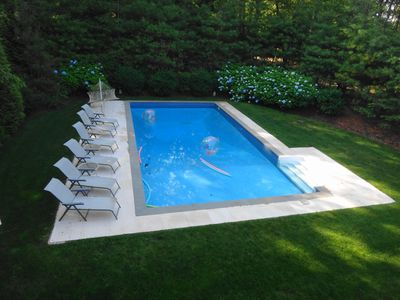 Pool From Second Floor View
