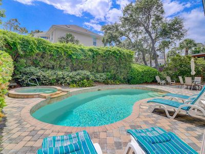 Photo for Spectacular private home, 2nd row with private pool and ocean views!