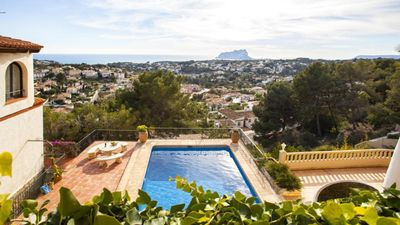 Photo for CARLA - Rental for 4 people on the coast of Benissa with views to the sea
