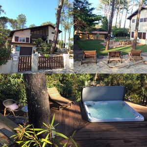 Photo for Beautiful villa with Spa sleeps 15 300meters from the ocean Capbreton