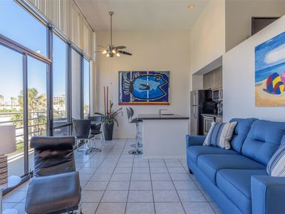 Photo for Sunchase IV 205: BEACHFRONT loft condo at an AFFORDABLE price! GREAT amenities!