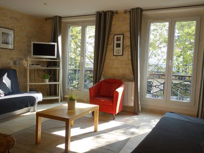 Photo for Louvre Châtelet II apartment in 01er - Louvre Les Halles with WiFi & air conditioning.