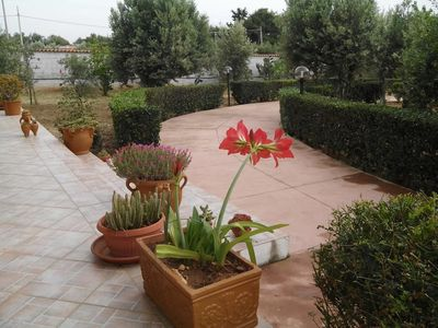 Photo for Nice Sicilian Villa with sea view and garden
