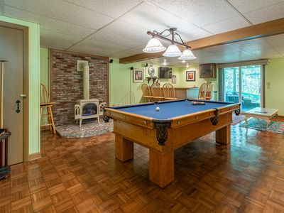 Photo for Private 4BR , Pool Table, Ping Pong, Sun Room. See Revie