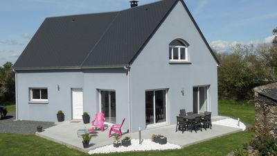 Photo for SEASIDE HOUSE IN NORMANDY - PORTBAIL NEAR AND CARTERET