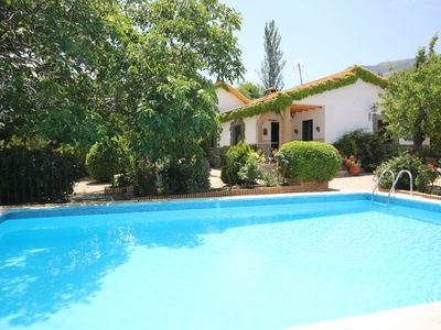 Photo for A delightful property surrounded by a cherry orchard and private swimming pool