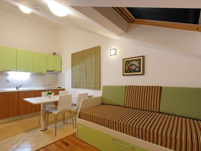 Photo for Spacious Marija apartment in Hvar with WiFi, air conditioning & balcony.