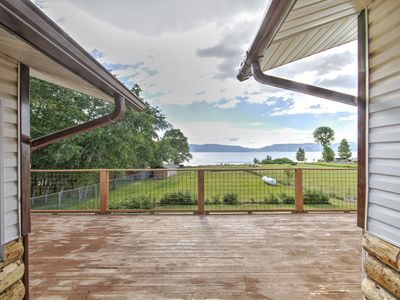 Photo for Lake-front Home on Bear Lake