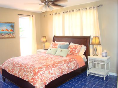 Photo for Private 2bd home, updated, steps to beach in Ormond by the Sea