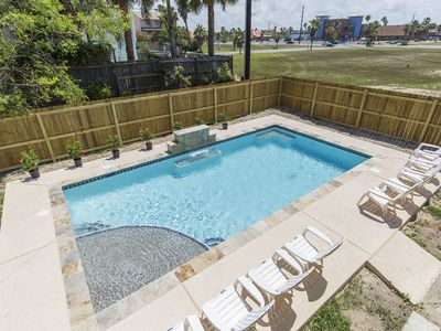 Photo for Beach House with Beautiful Private Pool. Centrally Located and just a Short Walk to the Beach!