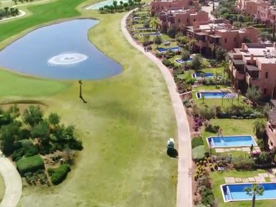 Photo for beautiful villa in the golf resort of the Atlas Gardens in Marrakech