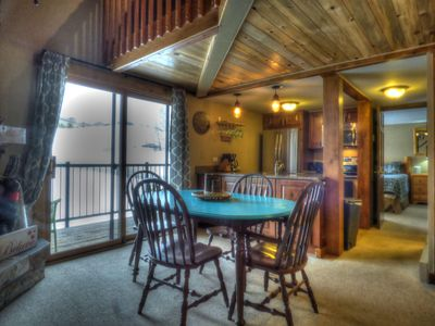 Photo for 2 Level 2 Bedroom Sleeps 8 Fireplace and Heavenly Views!