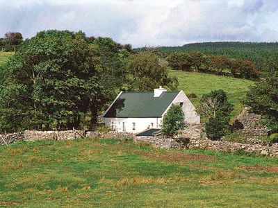 Photo for Traditional cottage in tranquil and secluded surroundings at the end of the road, yet only 1½…