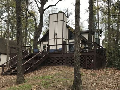 Photo for Kailey's Cabin at Lake Cypress Springs, 3 Bedroom, 2 Bath, Sleeps 6