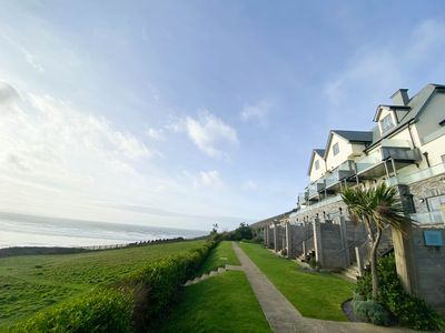 Photo for Luxury 3 Bedroom Apartment with spectacular sea views & close to Saunton Beach